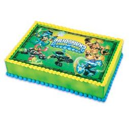 1/2 Sheet Cake Skylanders Swap Force Edible Cake Topper