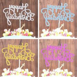 10Pcs Happy Birthday Cake Topper Dessert Cake Decorations Ki