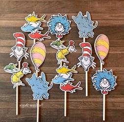 12 Cupcake Toppers STORYBOOK