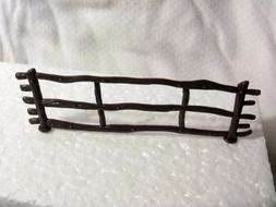 12  FENCE Panels Brown Cake decoration Topper New Western Ro