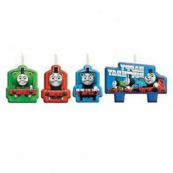 Amscan 171752 Thomas All Aboard Birthday Candle, One Size, M