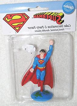 """1994 Superman 4"""" Cake Decoration and Party Favor"""