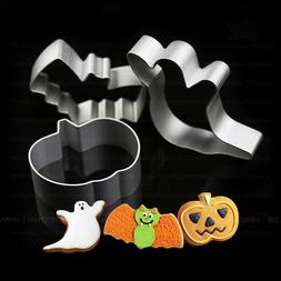 LINSBAYWU 1PCS Halloween Cookies Cutter Mould DIY Ghost and