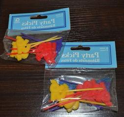 20 Party Picks Cupcake Toppers Cake Decorations 1995 or 95th