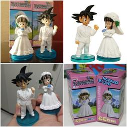 Dragon Ball Z Son Goku Chichi Figure For Wedding Cake Topper Bridal Decoration