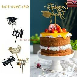 2019 Graduation Cake Topper Acrylic Cake Picks Cake Toppers