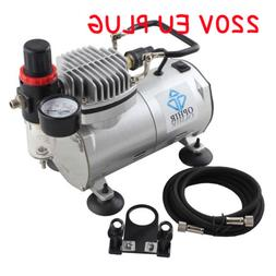 OPHIR 220V  Mini Air Compressor for Airbrushing Tattoo Hobby