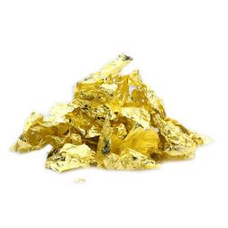 24K Gold Flakes Edible Food Decorating Foil Paper Cuisine Mo