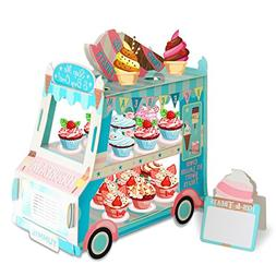 3 Tier Cake Stand   Ice Cream Food Cart Party Decorations  V