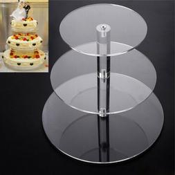 3 tier round wedding cake stand cupcake