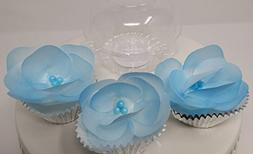 3D Edible Rice Paper Flowers for Cake Decoration, 3D Cake To