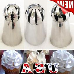 3pc sphere ball russian icing piping nozzles