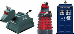 4.5 Dr. Who Blow Mold Assorted Ornaments - 3 Pack