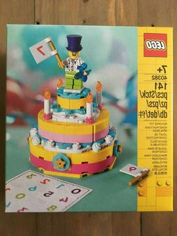 LEGO  Birthday Cake Set - 141 pcs - New! Free Shipping!