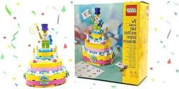 40382 birthday cake table decoration building set