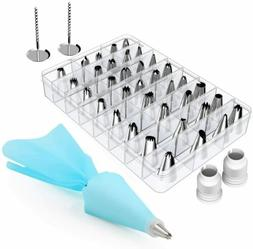42 Pcs Cake Decorating Tools Kit Baking Supplies with 36 Ici