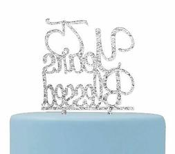 Firefairy 75 Years Blessed Cake Topper- 75th Birthday/Annive