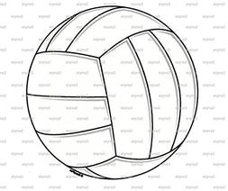 "8"" Round - Volleyball Birthday - Edible Cake/Cupcake Party T"