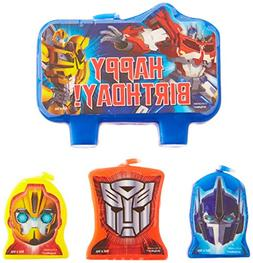 Amscan Mighty Transformers Birthday Party Molded Character C