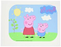 Bakery Crafts Peppa Pig Edible Icing Image Cake Topper