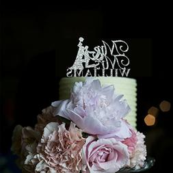 Bride Kiss Pregnant Bride Wedding Cake Toppers Mr and Mrs Pe
