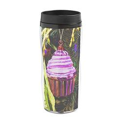 CafePress - Cupcake Bauble - 16 oz Travel Mug