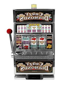 Crazy Diamonds Slot Machine Edible Icing Image for 1/4 sheet