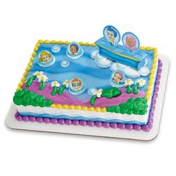 Decopac Bubble Guppies Gil, Molly and Gang DecoSet Cake Topp