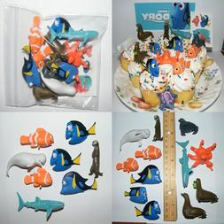 Disney Finding Dory Deluxe Mini Cake Toppers Cupcake Decorat
