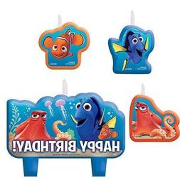 Finding Dory Birthday Candles 4 Pieces
