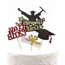 Graduation Cake Toppers, Congrats Grad Class of 2018 Cake To