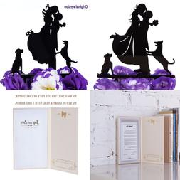 LOVENJOY with Gift Box Love Her Love Her Dogs Silhouette Acr