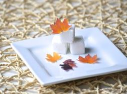 Mini Edible Fall Leaves - Set of 48 - Cake Decorations, Cupc