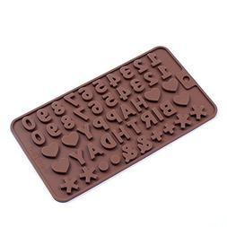 NAOAO Cake Decorating Chocolate Candy Silicon Molds for Home