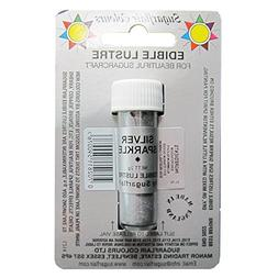 Sugarflair SILVER SPARKLE Edible Lustre Dust Powder - Cake d