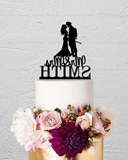 Wedding Cake Topper Fire Fighter Custom Bride And Groom Mr A