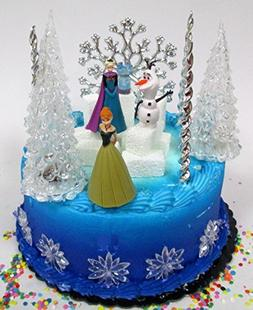Winter Wonderland Princess Elsa Frozen Birthday Cake Topper