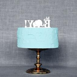 It's A Boy Baby Shower Cake Topper, Gender Reveal Party Dec