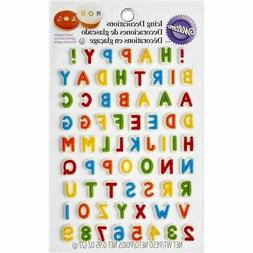Wilton 710-6042 Alphabet Letters & Numbers Edible Icing Cake