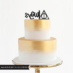 Acrylic Art Design Always Cake Topper for Weddings by Harry