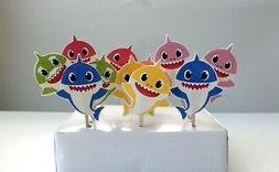 Baby Shark Cupcake topper, Cake Pop, Cake Decor, Party Suppl