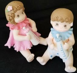 Baby Shower Cake Topper Twin Babies Cake Decoration Baby Sho