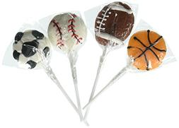 Rhode Island Novelty Sport Ball Lollipops Dozen
