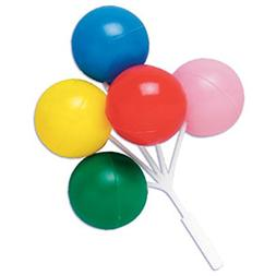 Oasis Supply Balloon Cluster for Cupcake/Cake, 5-Inch, Multi