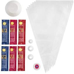 Berry-Flavored Cupcake Baking and Decorating Set, 4-Piece