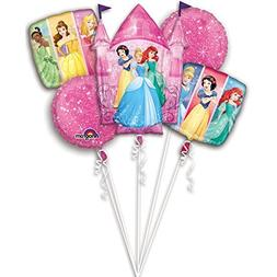 Princess Party Birthday Cake Bouquet Balloons 5 pieces
