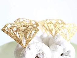 Bridal Shower Decorations, Ring Engagement Ring Cupcake or D