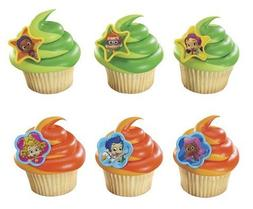 Quantumchaos 1 X 24 ~ Bubble Guppies Cupcake Rings ~ Designe