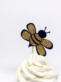 Bumble Bee Cupcake Toppers, Bee cupcake toppers, Bee Gender