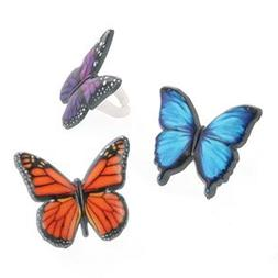 Butterfly Cupcake Rings -